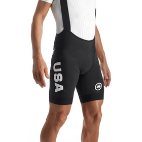 assos T.Equipe_S7 USA Cycling Bib Short Men Block Black